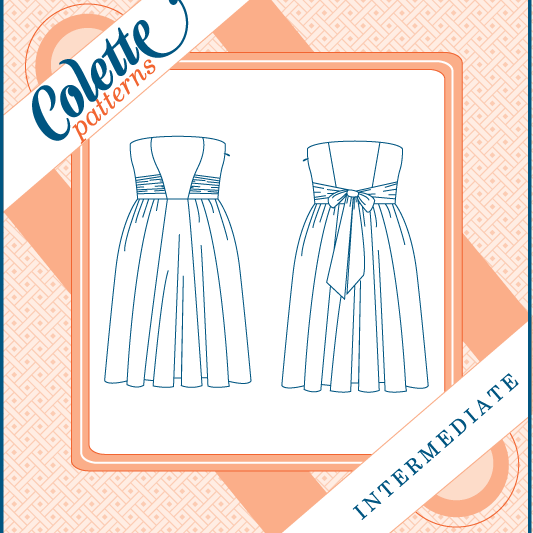 Eclair Dress 1004 By Colette Patterns - Frumble Fabrics