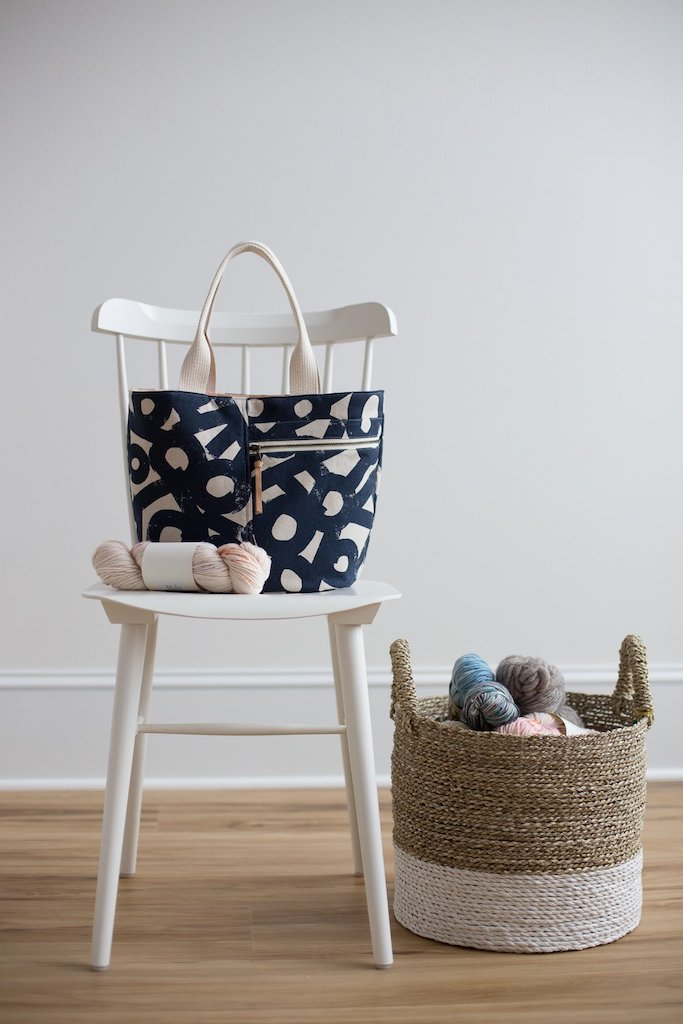 Crescent Tote Bag - Noodlehead Patterns - Frumble Fabrics