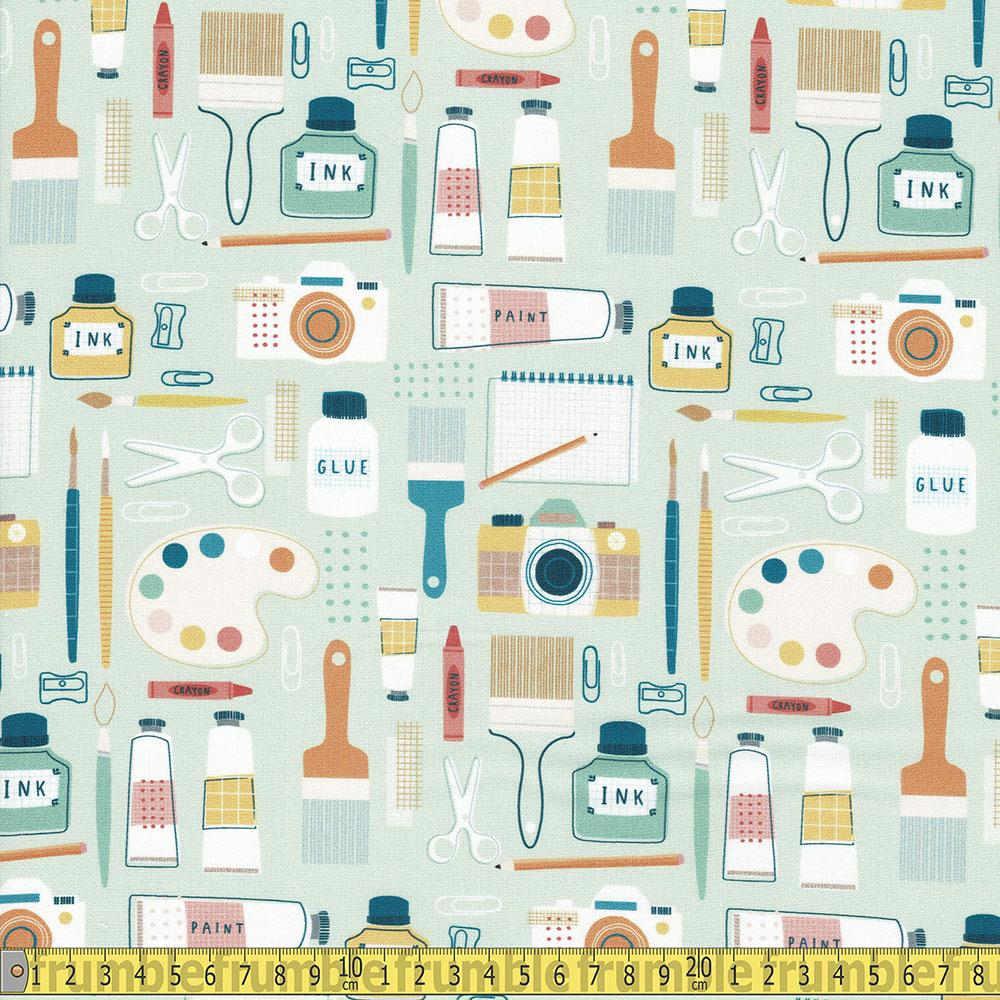 Dashwood Studio - Hobbies - The Artist Mint Sewing and Dressmaking Fabric