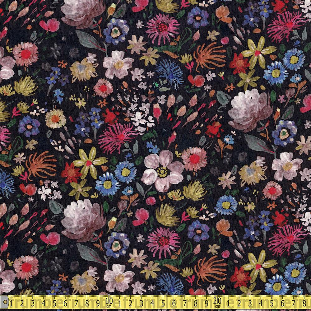 Dear Stella - Falling For You - Autumn Floral Multi Sewing Fabric