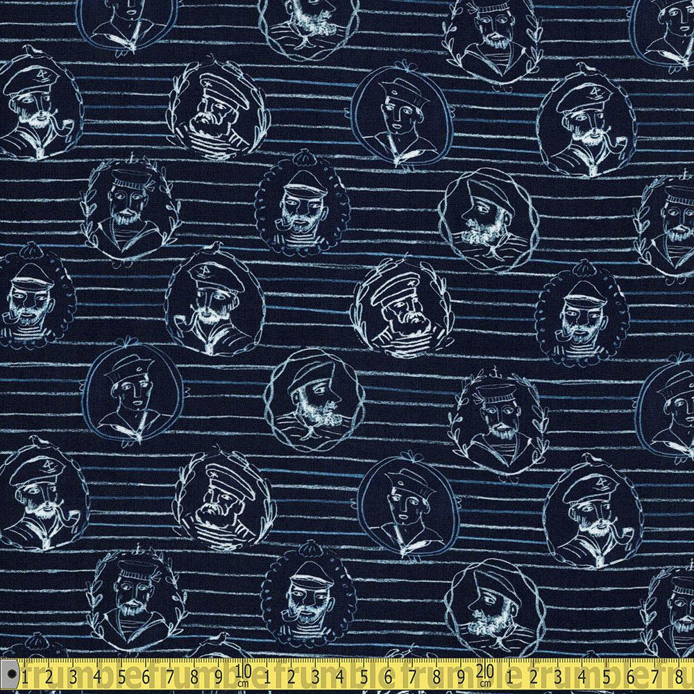 High Seas Sailor Stripe Vulcan - Frumble Fabrics