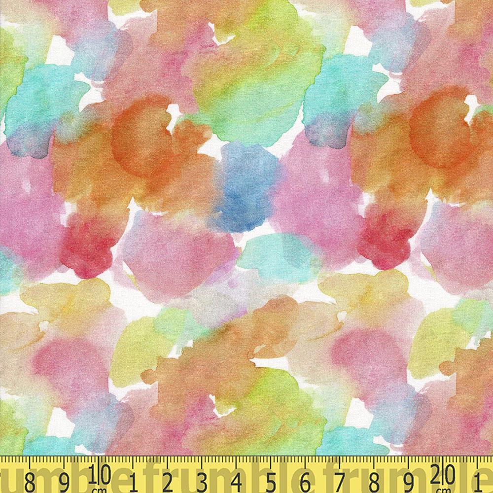 Spring Theory Confetti Petals Multi Fabric by Dear Stella