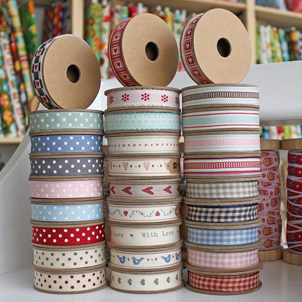 3m Roll of East of India Ribbon - Frumble Fabrics