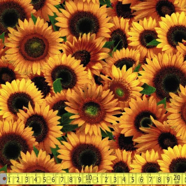 Sunflowers Yellow - Frumble Fabrics