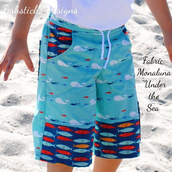 Fishsticks Designs - The Sand & Sidewalk Broadshorts & Skate Pants (Childrens)