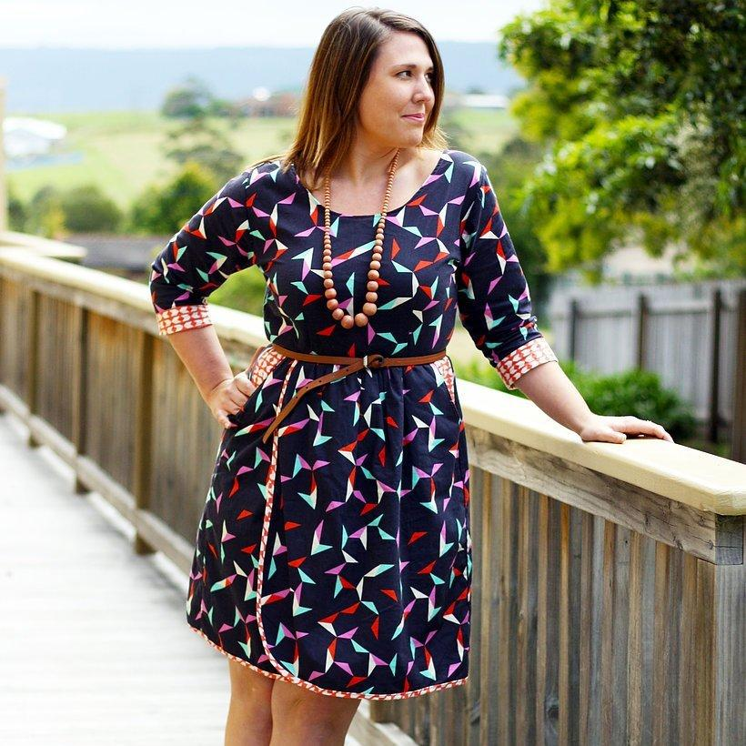 The Flatter Me Frock By Sew To Grow