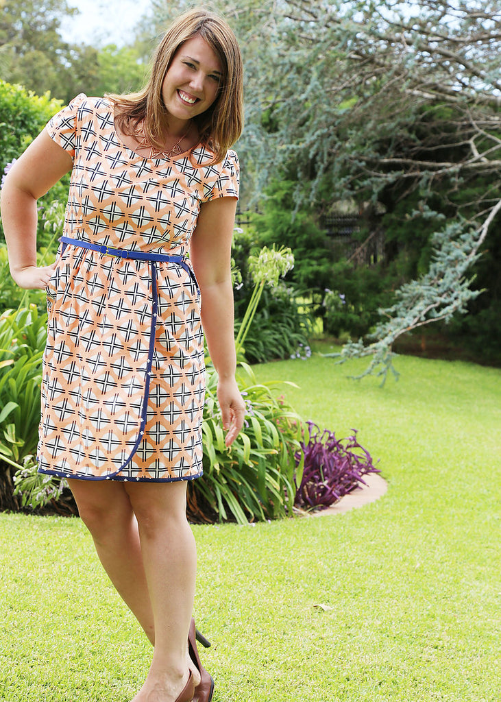 The Flatter Me Frock - Sew To Grow Patterns - Frumble Fabrics