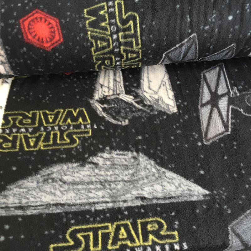 FLEECE Star Wars Force Awakens Spaceships Fabric by Camelot