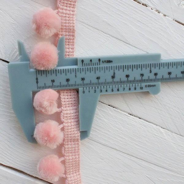 Fluffy Furnishing Pom Pom Trim Overall