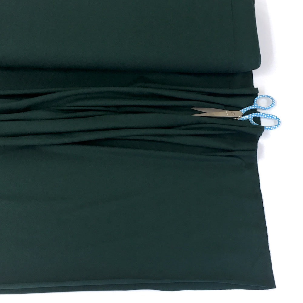 Organic Jersey Solids - GOTS Cotton Knit - Forest Green