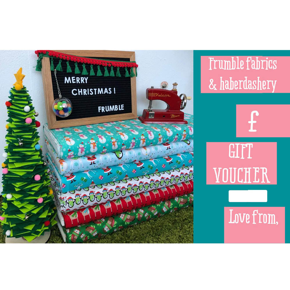 Frumble Gift Card - Frumble Fabrics