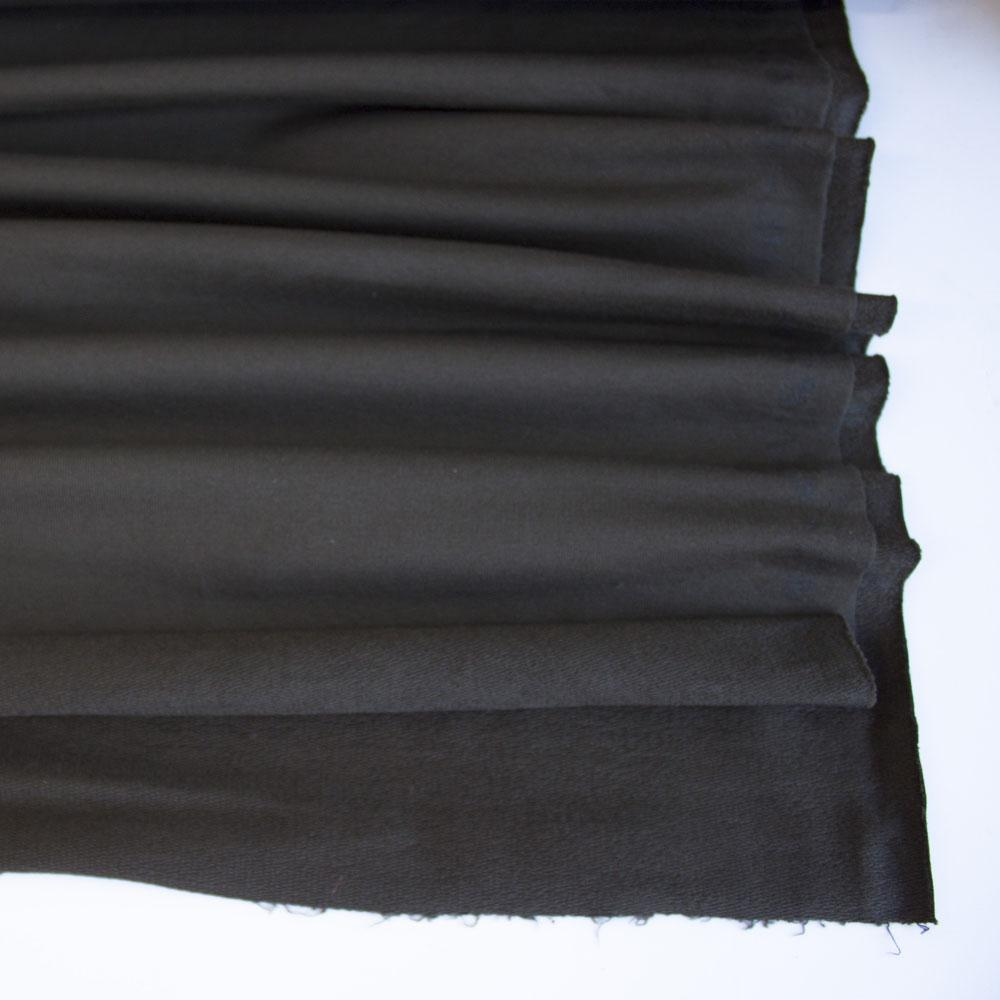 Dark Brown Premium Plain French Terry Fabric by Various