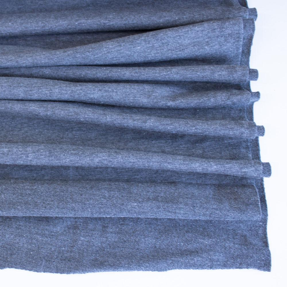 Dark Grey Premium Plain French Terry Fabric by Various