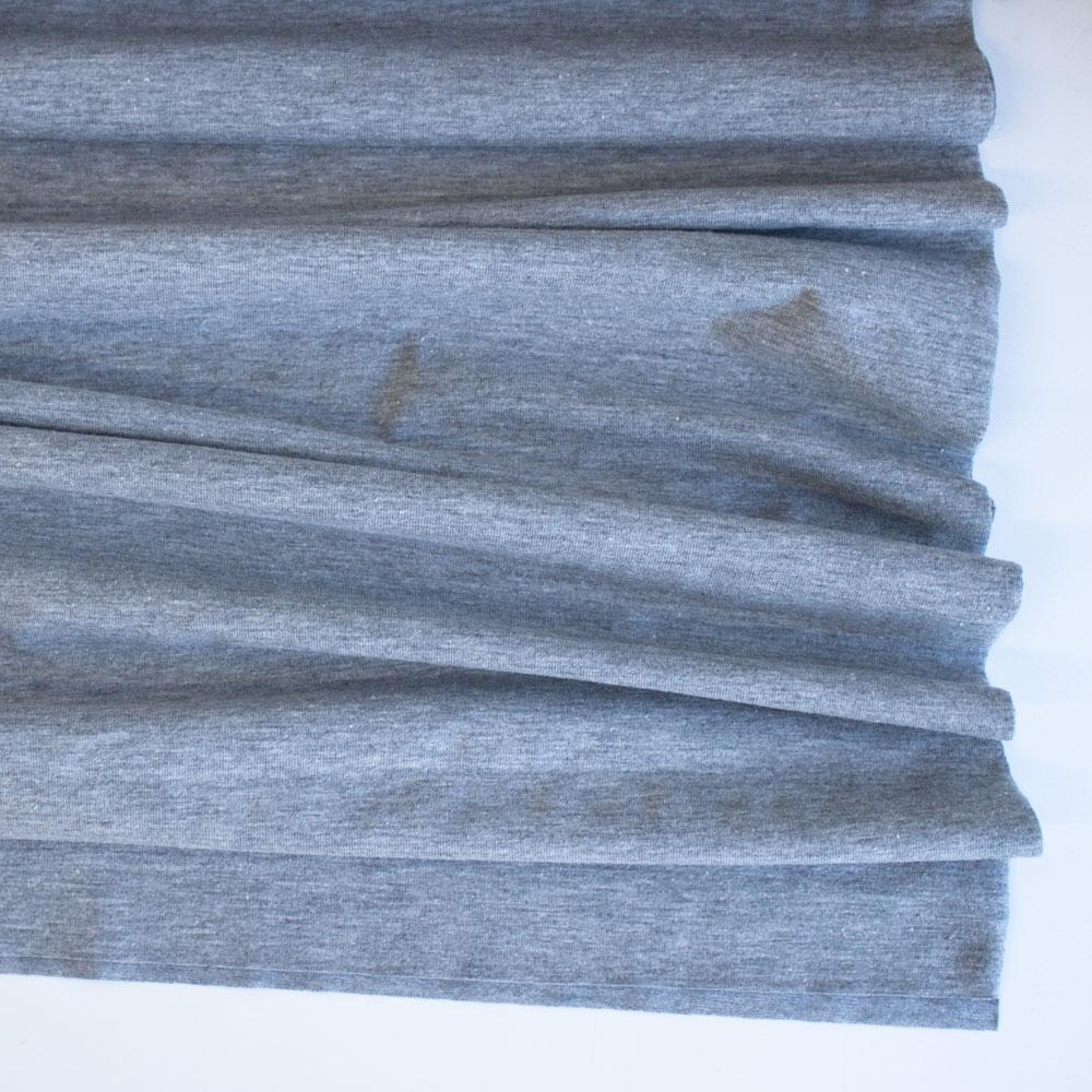 Light Grey Premium Plain Cotton/Spandex Jersey Fabric by Various
