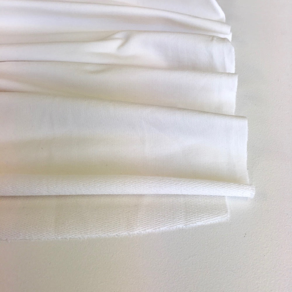 Ivory Premium French Terry - Frumble Fabrics
