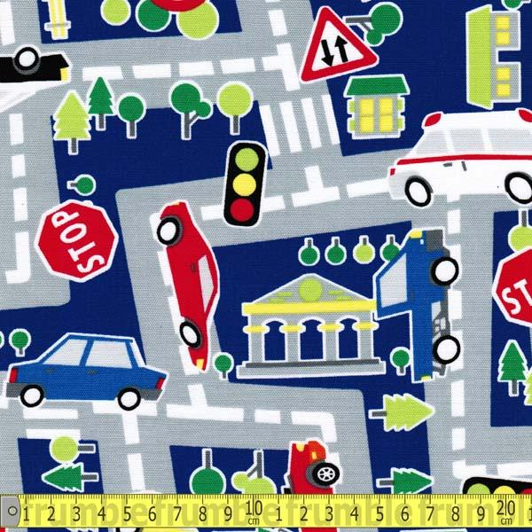 Car Play Mat Royal Fabric by Japanese
