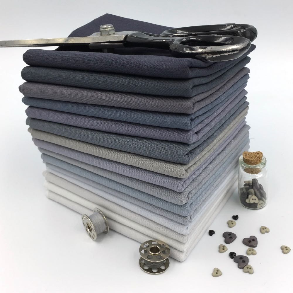 15 Shades of Grey Kona FQ Bundle