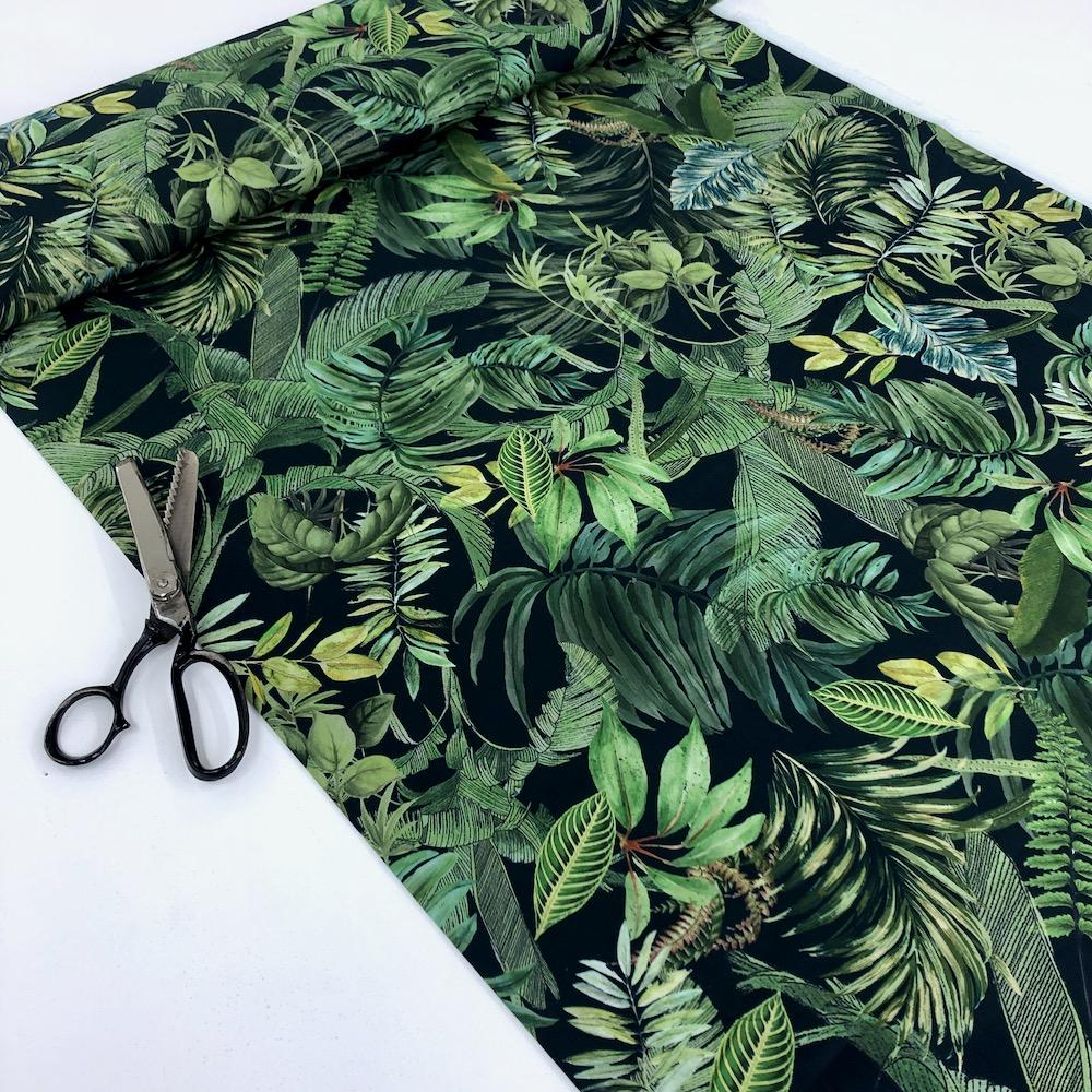 Lady McElroy - Cotton Lawn Fabric - Foliage Canopy Dressmaking Fabric