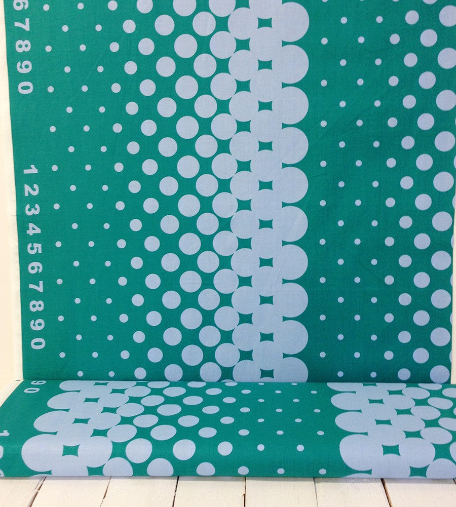 First Of Infinity Border Dot Teal