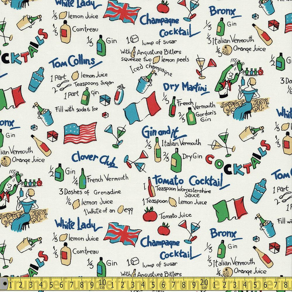 Dry Martini Cream - Frumble Fabrics