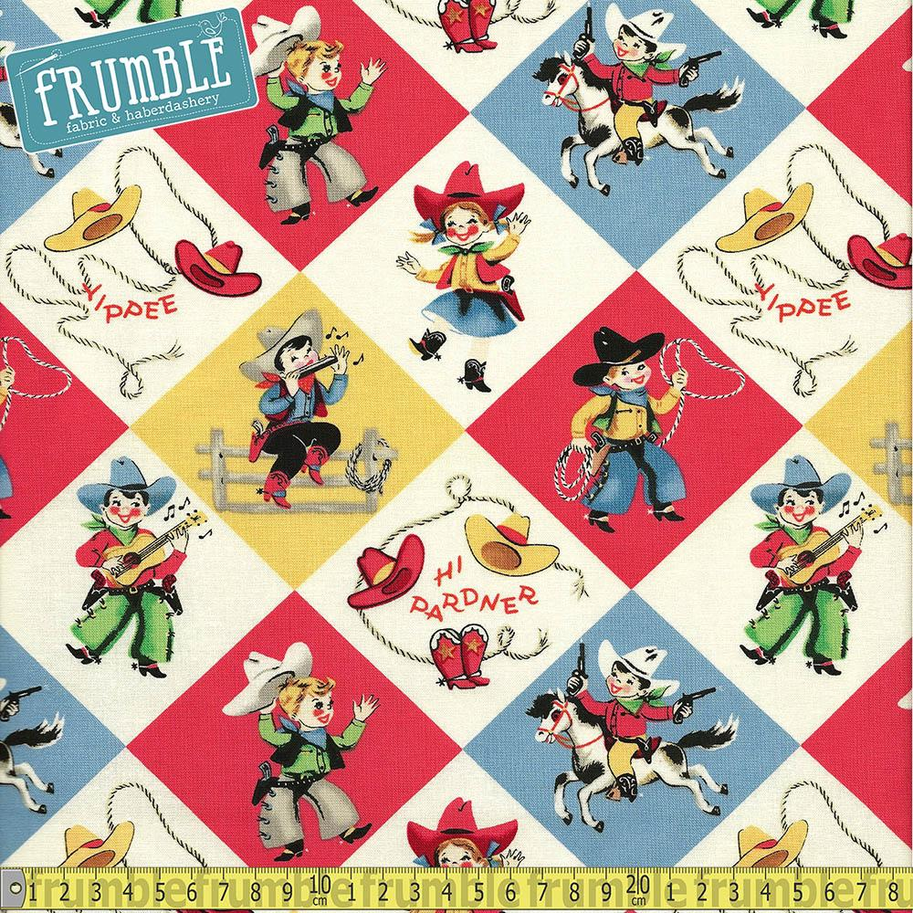 Yippee Retro Fabric by Michael Miller
