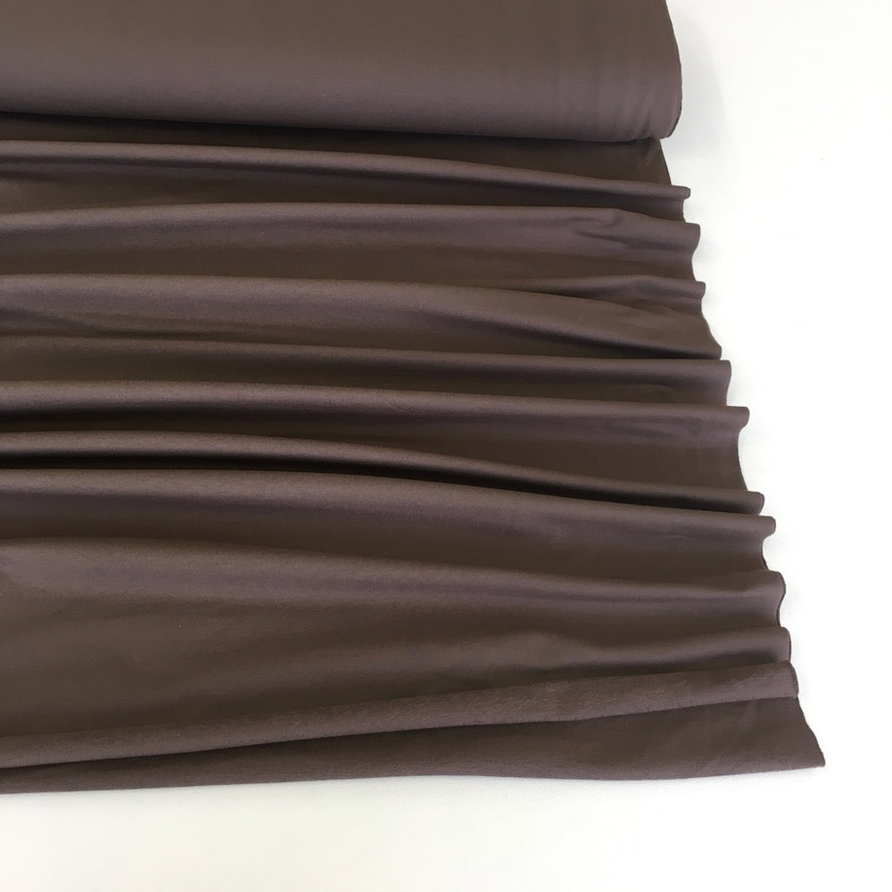 Mink Brown Premium French Terry - Frumble Fabrics