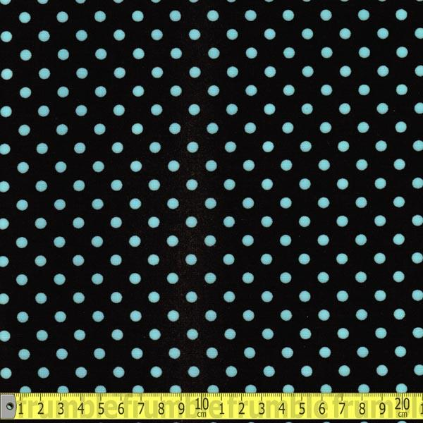 Laminated Fabric - Michael Miller Dumb Dot Chocolate Fabric by Various