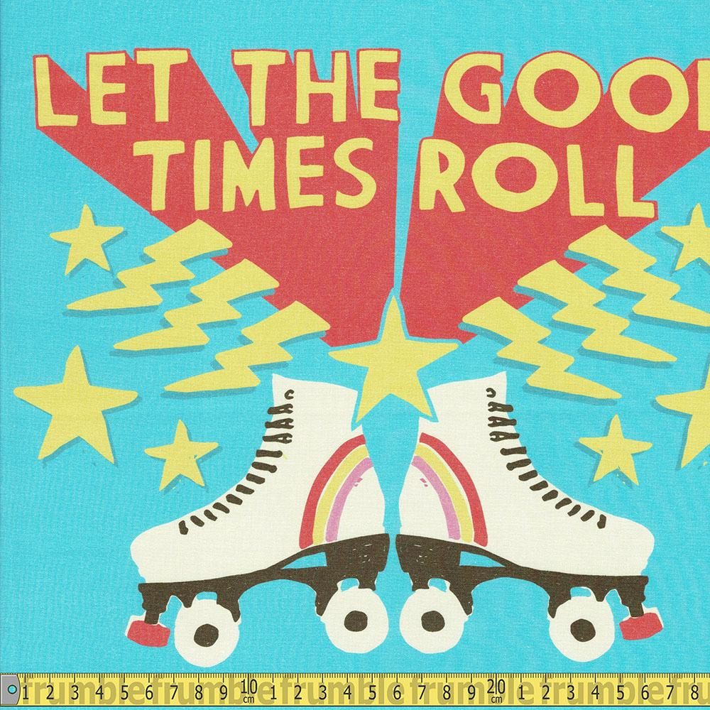 Paintbrush Studio - Let The Good Times Roll 36 Inch Panel Sewing Fabric