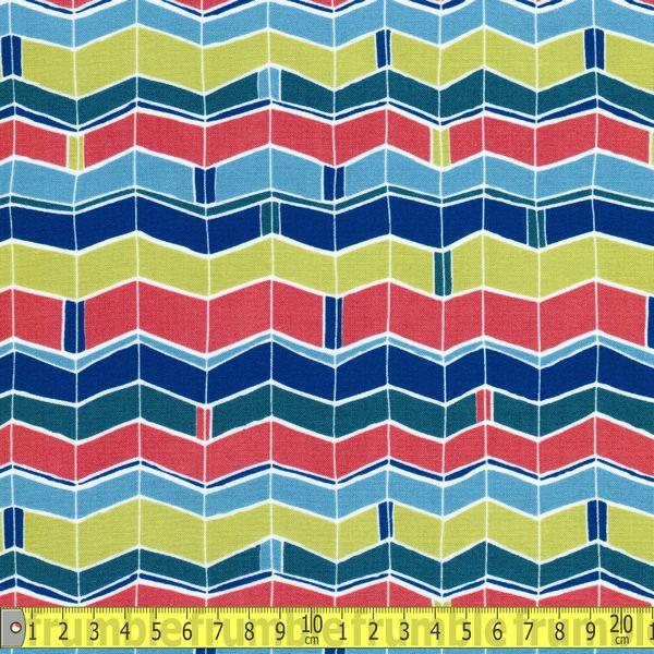 Velocity Chevron Multi Fabric by Various