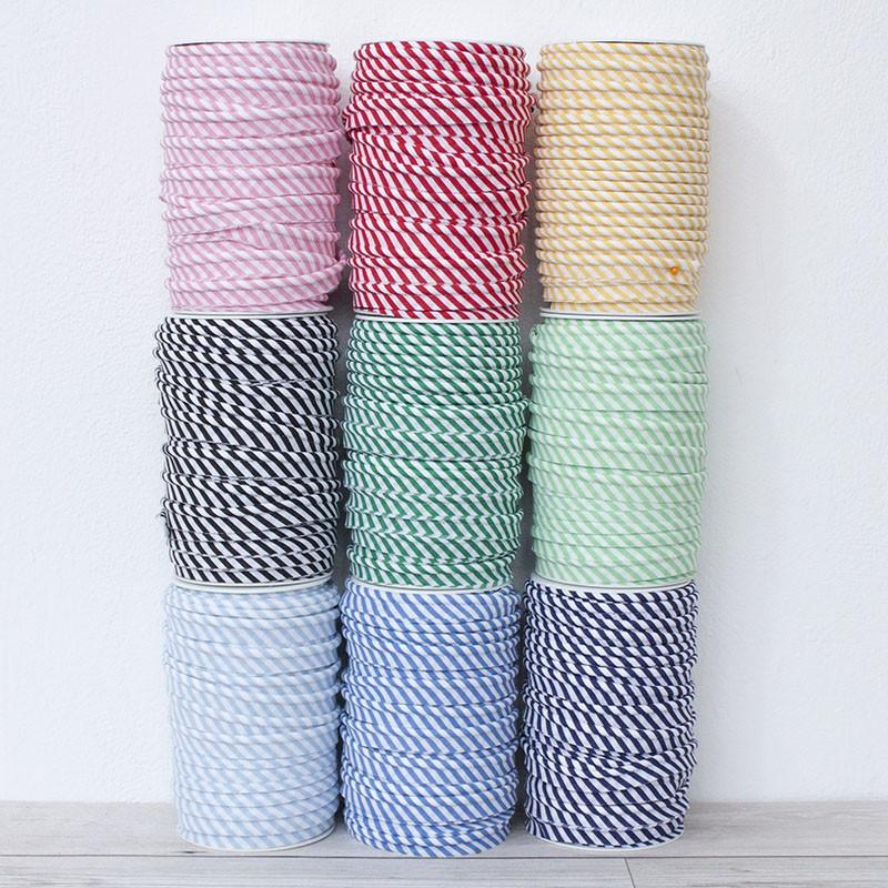 Medium Stripe Piping Bias Binding All