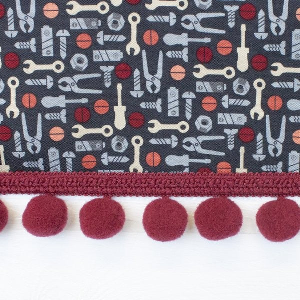 Decorative Edge Pom Pom Trim - Frumble Fabrics