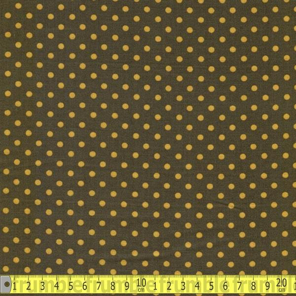 4mm Polka Dot Moss Fabric by Various