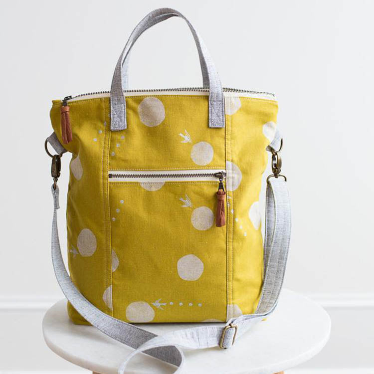Redwood Tote Sewing Pattern by Noodlehead