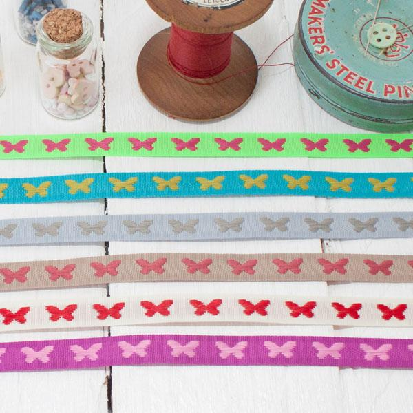 Ribbon Pack - Bright Butterflies - Frumble Fabrics