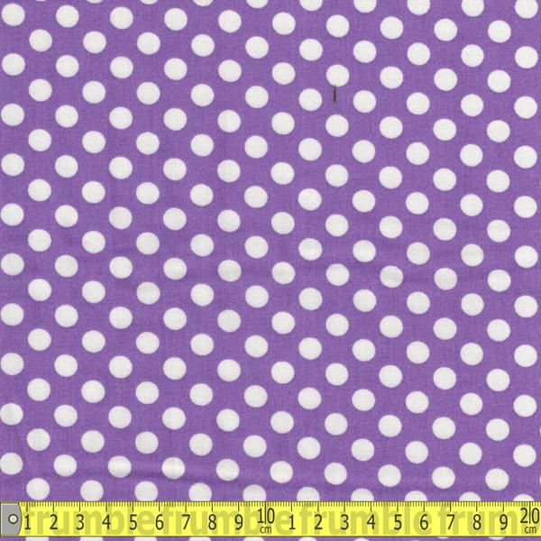 Spot On Medium Violet Fabric by Robert Kaufman