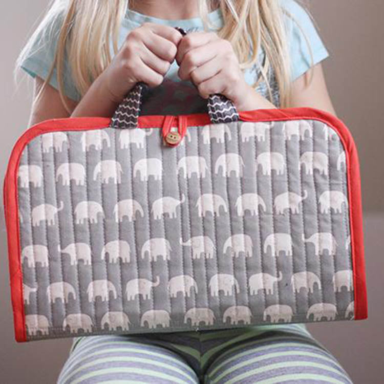 Road Trip Case Sewing Pattern by Noodlehead - Frumble Fabrics