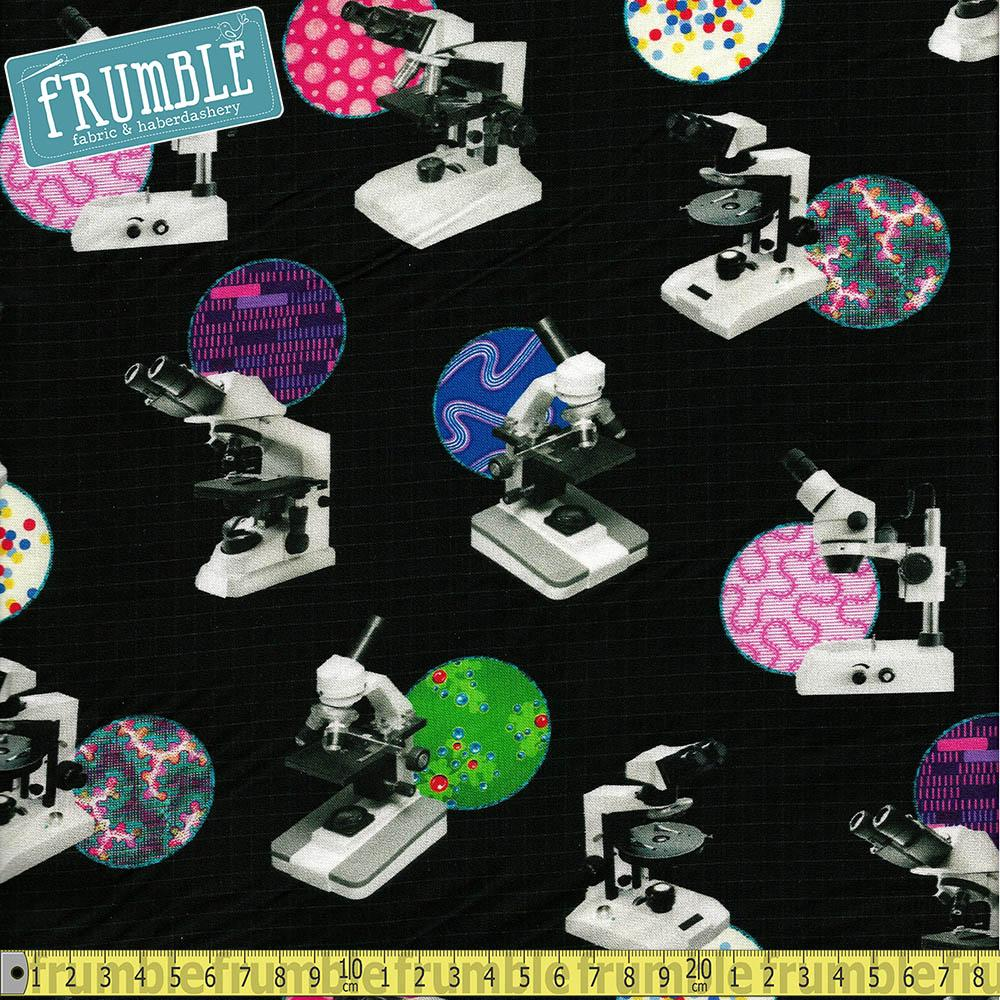 Science Fair 3 Bright Idea Microscopes Black - Frumble Fabrics