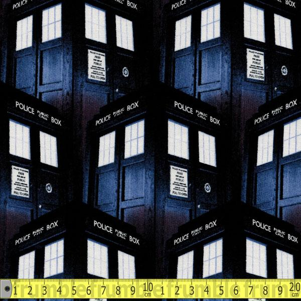 Doctor Who Packed Tardis - Frumble Fabrics