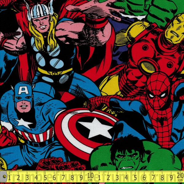 Marvel Comic Pack Multi - Frumble Fabrics