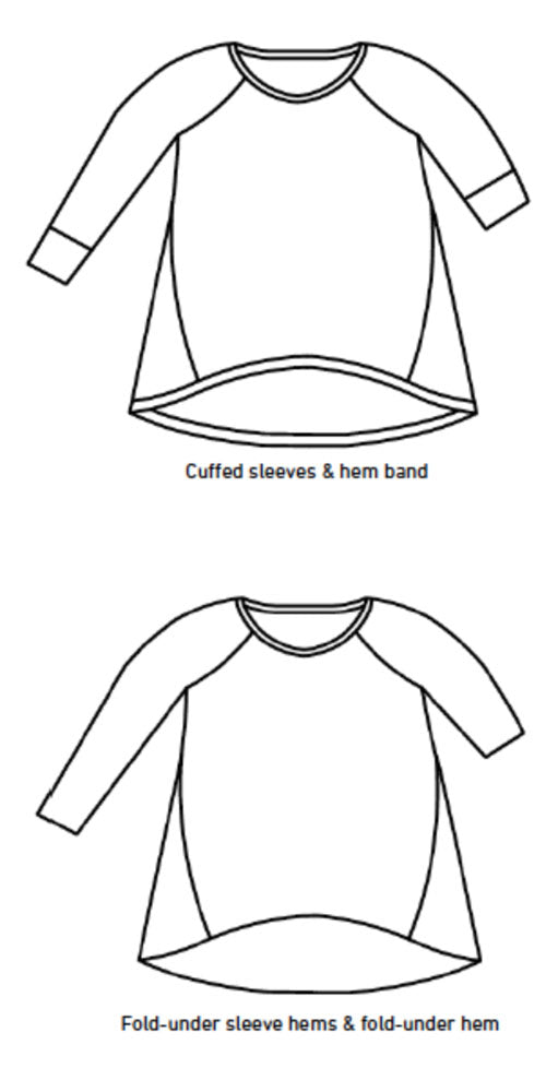 Make It Perfect - Raglan Twist Top