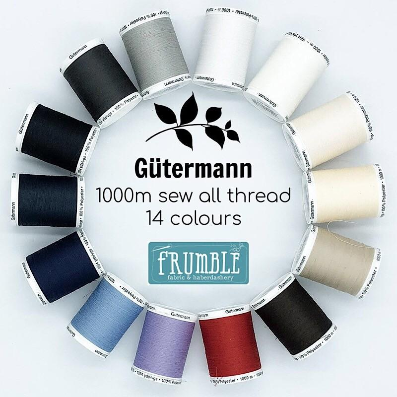 Sew All Thread 1000m Reel - Frumble Fabrics