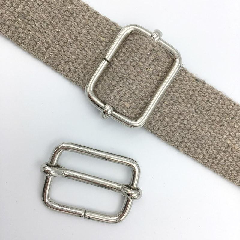10x Slider Buckle 30x22x4.0mm