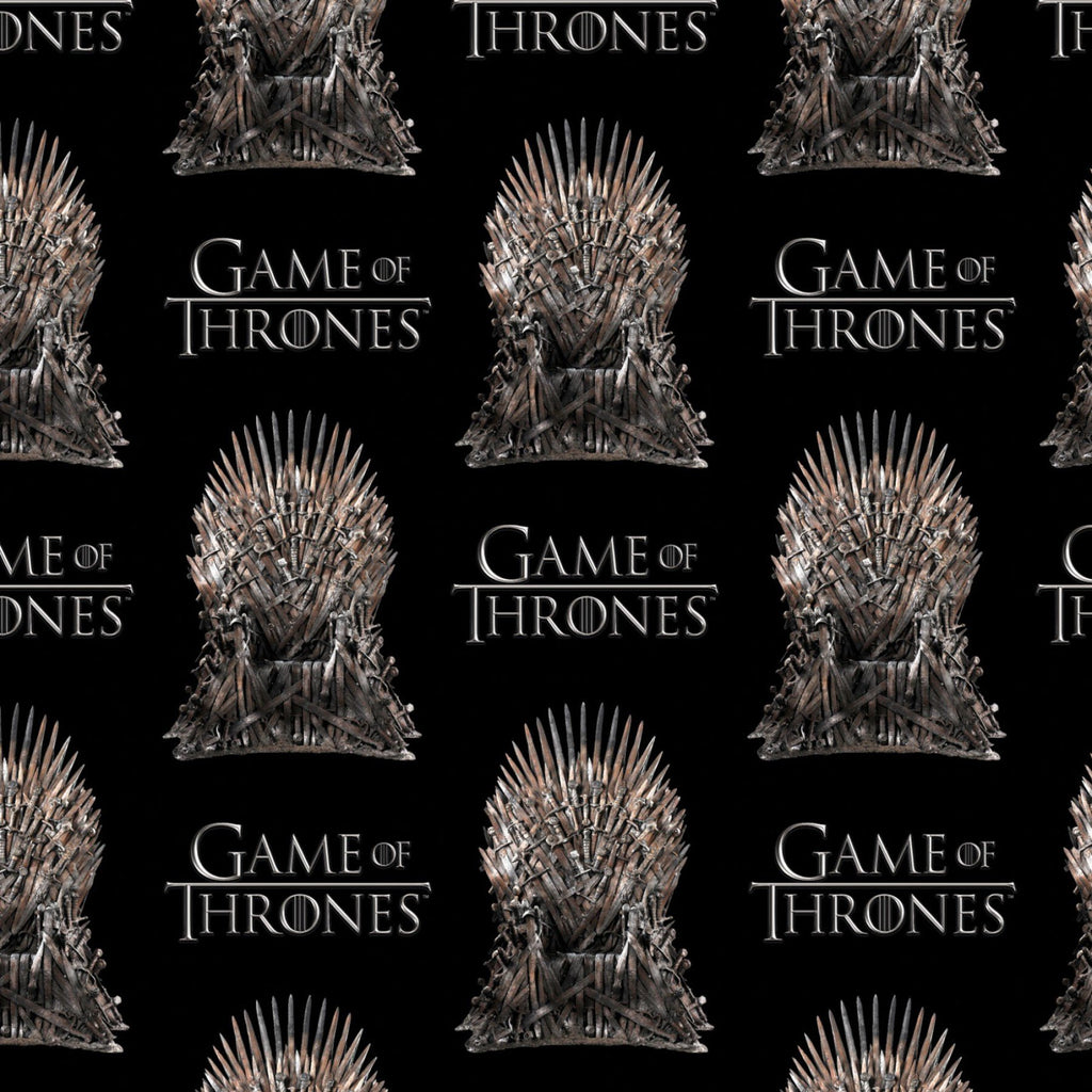 Game Of Thrones The Iron Throne Fabric by Springs Creative
