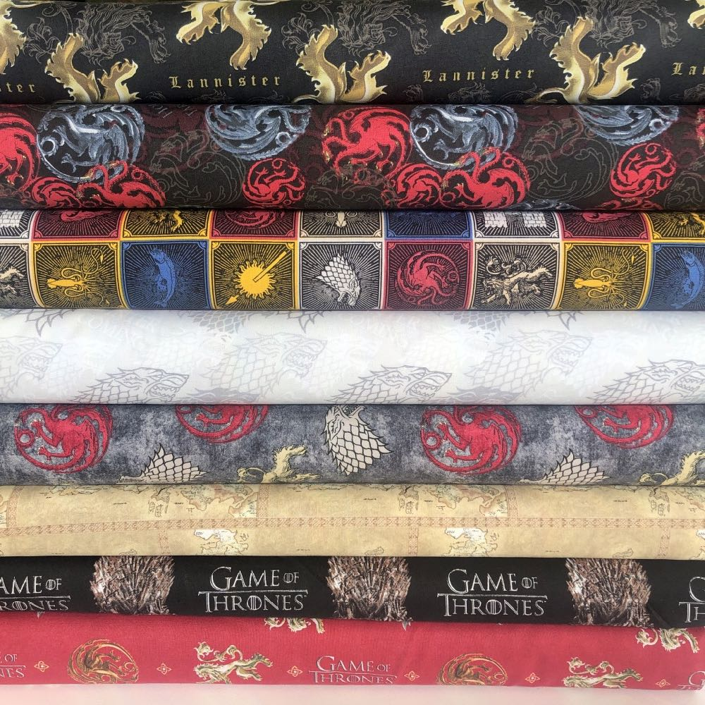 Game Of Thrones Complete FQ Bundle - Frumble Fabrics