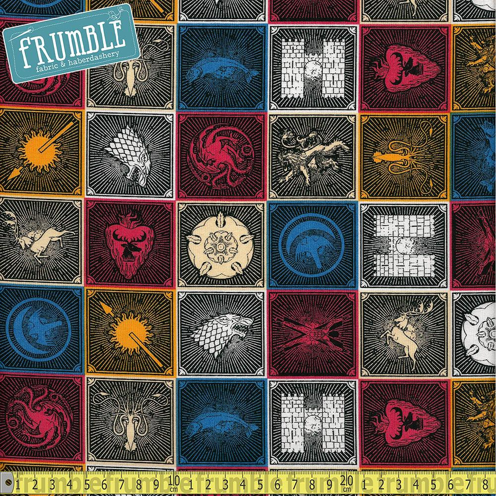 Game Of Thrones House Sigils - Frumble Fabrics