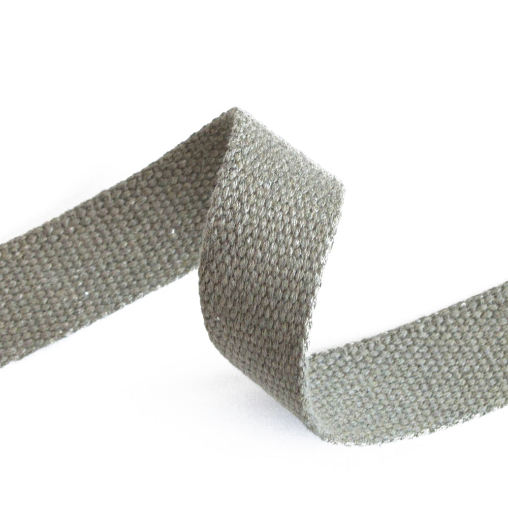 SAMPLES: 30/40mm Cotton Canvas Webbing (Select 5 colours for £1.50) - Frumble Fabrics