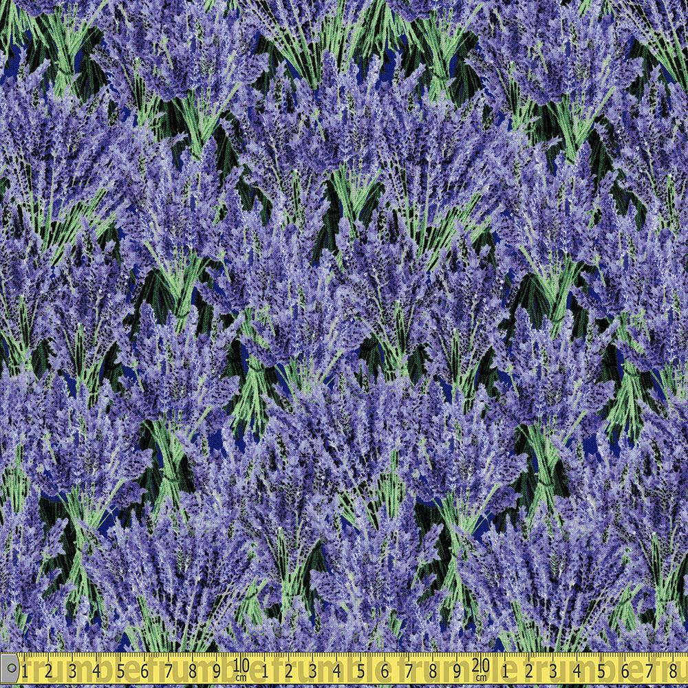 Timeless Treasures - Lavender Bunches Purple Sewing Fabric