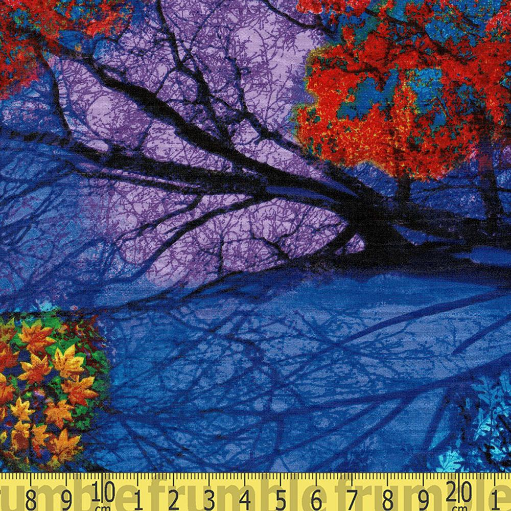 "24"" Electric Nature Panel Multi - Frumble Fabrics"