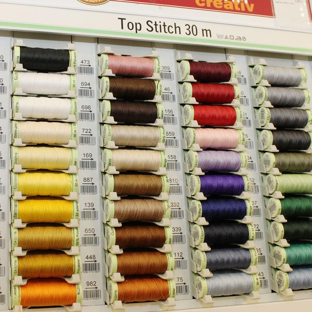 Top Stitch Thread 100m Reel - Frumble Fabrics