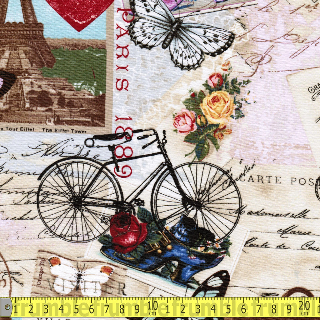 Paris Journey Antique - Frumble Fabrics
